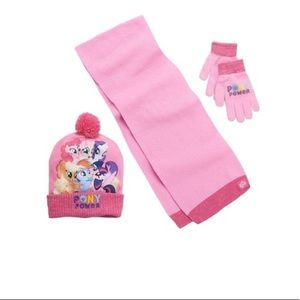 """""""My Little Pony"""" 3 piece cold weather set"""